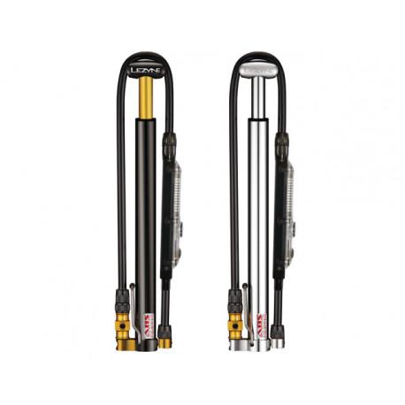 Pompe à main Lezyne Micro Floor Drive HVG, version digitale
