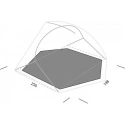 Tapis de sol Exped Lyra 3 personnes (Footprint)