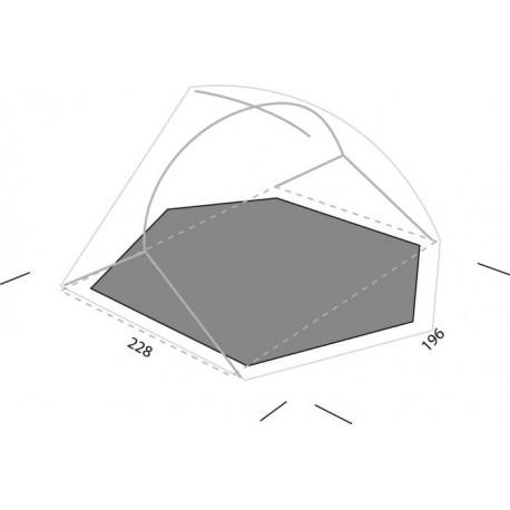 Tapis de sol Exped Lyra 2 personnes (Footprint)