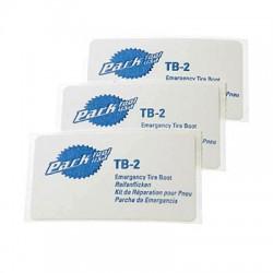Rustines pour pneu Park Tool TB-2